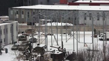 Строительство склада на Якорной улице