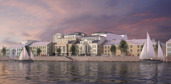 Проект жилого комплекса на набережной Лейтенанта Шмидта