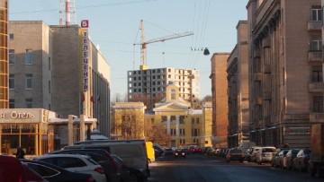 Новый жилой комплекс в створе улицы Чапыгина