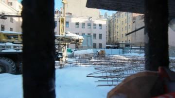 Строительство офисного здания на Верейской улице, 50