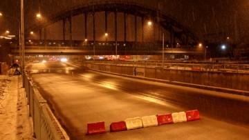 Движение по набережным Обводного канала ограничено