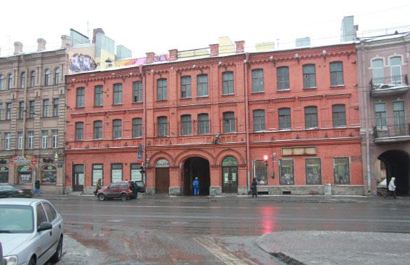 """""""Красные бани"""" на Московском проспекте, 55"""