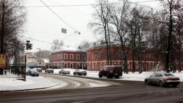 Литовская улица возле Литовского полка