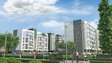 Проект нового микрорайона в Янине
