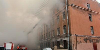 Подъездной переулок, 13, пожар