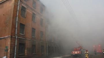 Пожар в Подъездном