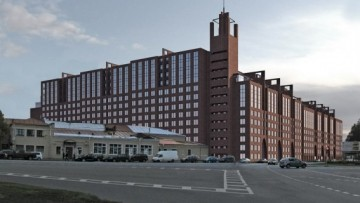 Проект комплекса на Свердловской набережной