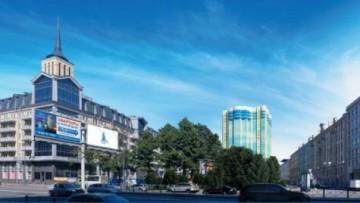 Проект дома на Смоленской— вид с Московского проспекта