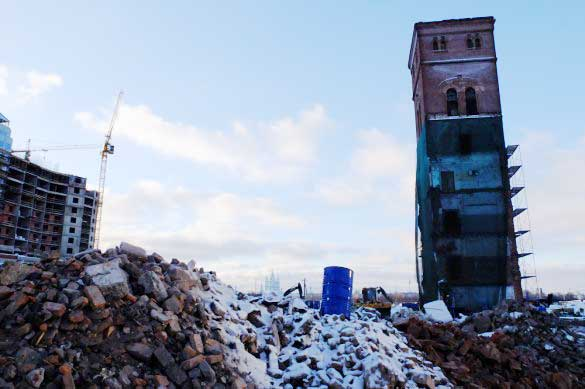 Башня Охтинской мануфактуры