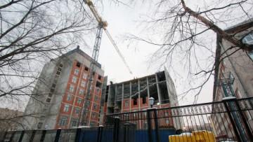 Новый корпус университета МЧС на Московском, строительство
