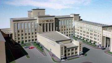 Проект учебно-административного корпуса университета МЧС на Московском