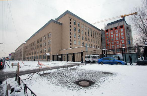 Строительство нового корпуса университета МЧС на Московском проспекте, 149