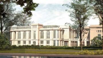 Проект кинотеатра «Великан» в Александровском парке
