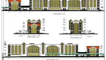 Проект нового вокзального комплекса в Сестрорецке