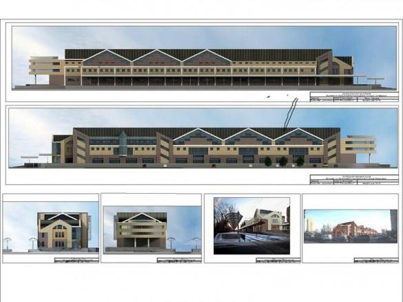 Проект нового вокзала в Сестрорецке