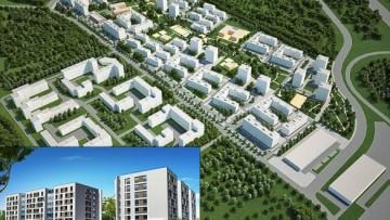 Проект застройки жилого микрорайона под Янином