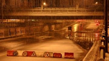 Затоплены набережные Обводного канала