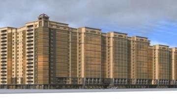 Проект жилого комплекса на Московском