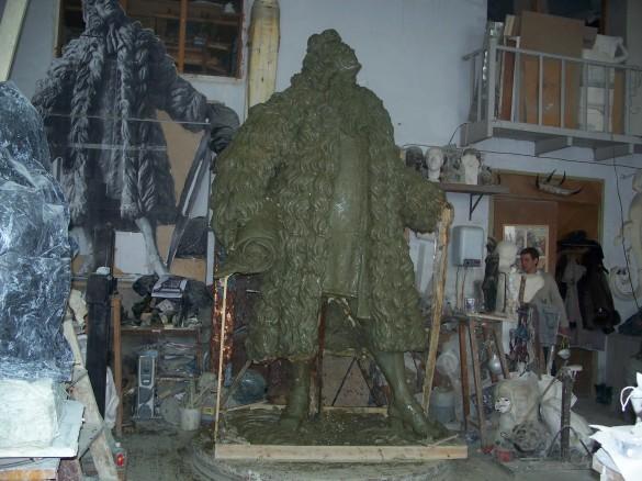 Памятник Трезини