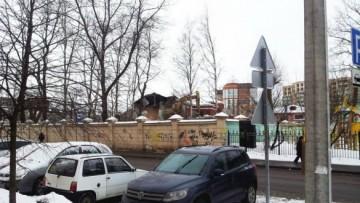 Строительство школы на Корпусной улице