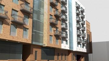 Проект жилого дома на Лиговском проспекте, 123