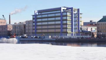 Проект бизнес-центра на Пироговской набережной