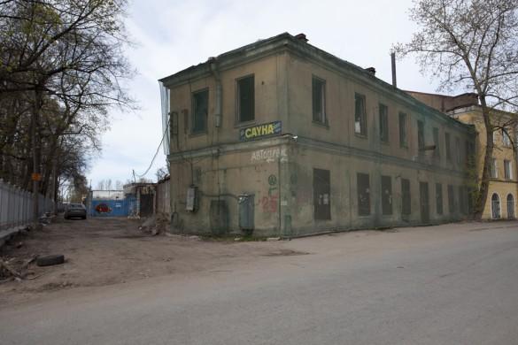 Дом на набережной Смоленки