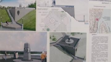 Проект памятника Рюрику
