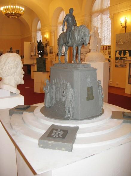 Проект памятника конунгу Рюрику