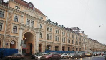 Фасады зданий Апраксина двора