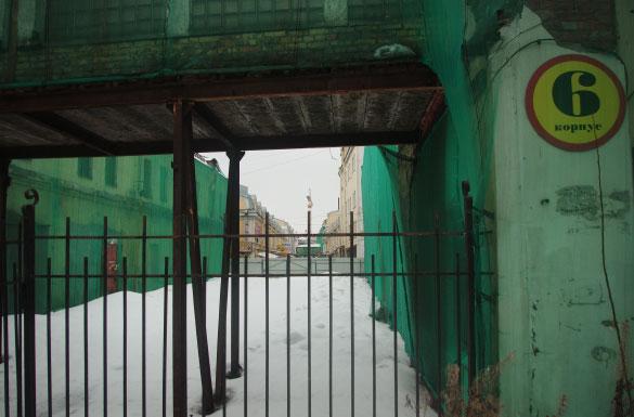 Апраксин двор, Садовая улица