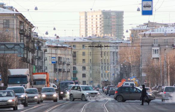 """Высотка """"Кронштадтский форт"""""""