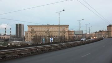 Вид на дом «Кронштадтский форт», Автово