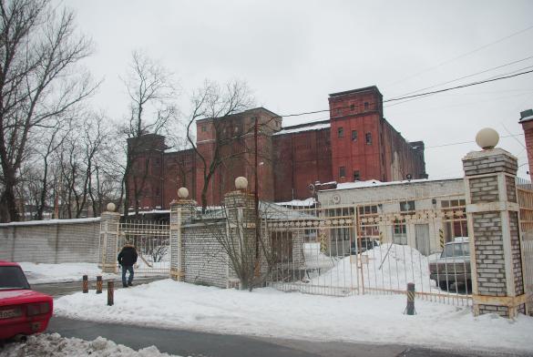 Черниговская улица, 15, «Хладокомбинат № 1», здание под снос