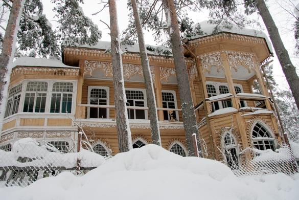 Дача Юхневич, Комарово