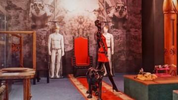 Интерьер музея эротики на Лиговском