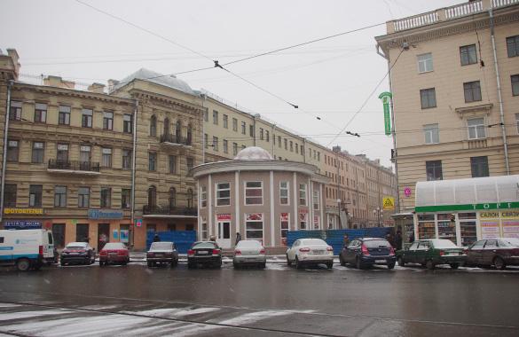 Финский переулок, торговый павильон