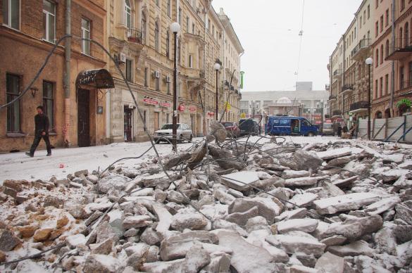 Финский переулок, снос торговых павильонов