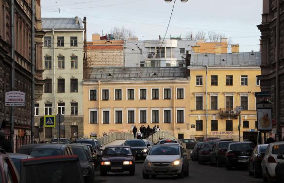 Набережная Фонтанки, 100, реконструированное здание ФСБ