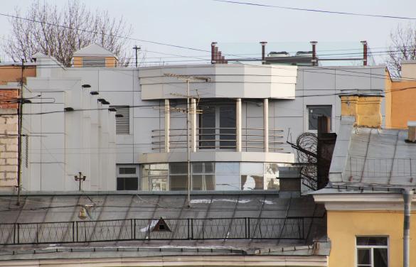 Реконструированный дом ФСБ на Фонтанке
