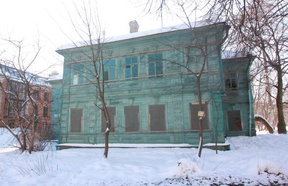 Пушкин, Московская, 31, флигель Городовой ратуши