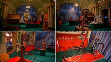 Интерьеры музея эротики в доме Пестрикова