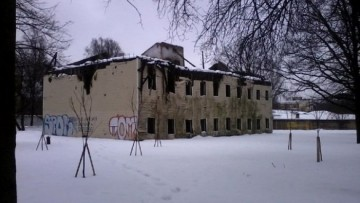 Бывший дом колхозника Калининского рынка на Полюстровском проспекте, 40