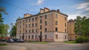Заброшенные дома в Кронштадте на Ленинградской улице, 4