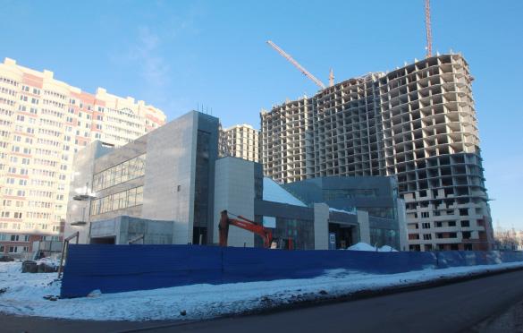 Торговый комплекс на улице Кржижановского