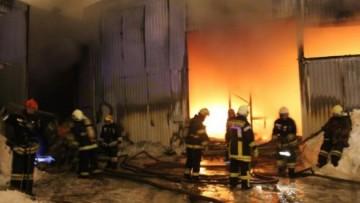 Пожар на складах на Лиговском проспекте, 252