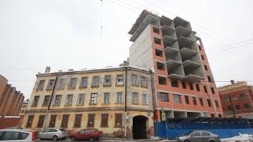 Лиговский, 123, строительство
