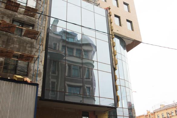 Строительство здания, Лиговский, 123