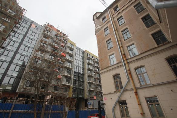 Строительство дома на Лиговском, 123