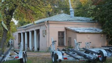 Водно-моторная станция в Лопухинском саду, на месте которой RBI построит гостиницу